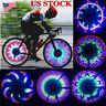 32 LED RGB Waterproof Changing Wheel Flash Light Bicycle Light for Night Riding