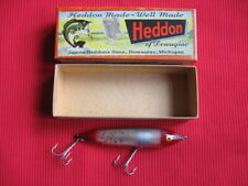 Vintage Original S9250 SFR Silver Foil Red HEDDON ZARA SPOOK Fishing Lure - NIB
