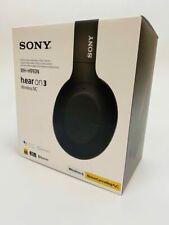 Sony h.ear on 3 Wireless Noise Canceling Headphones Black WH-H910N NEW OPEN BOX