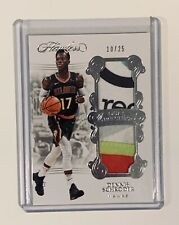 2017-18 Panini Flawless Dual Patches Dennis Schroeder #10/25- 5 Color Patch