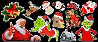 Happy Holidays Contour Cut Vinyl Sticker Bundle