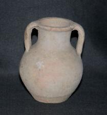 ancien petit pot à deux anses gallo-romaine archéologie I er, II ème après