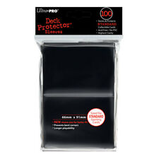 ULTRA PRO Deck Protector - Standard 100ct Black NEW Gaming Trading Cards Storage