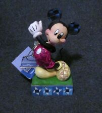"""Jim Shore Disney Showcase Collection Mickey Mouse """"Modern Day Mouse"""" Signed"""
