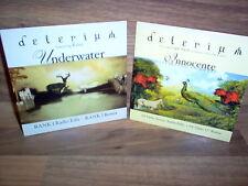 Lot de 2 CD Single / Delirium - Innoncente ( Tiesto Remix ) & Underwater / Rare