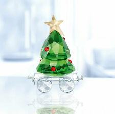 Swarovski Christmas Tree Wagon Train Carriage Brand New Boxed 5399977 - Rare