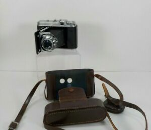 Voigtlander Perkeo II 6x6 Foldable 120 Film Camera 80 mm f/3.5 with Rangefinder