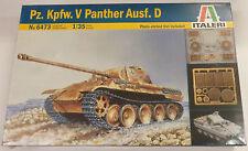 Italeri 1/35 Pz Kpfw V Panther Ausf D Tank Model Kit 6473