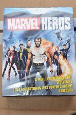 MARVEL HEROS  X-MEN WOLVERINE 4 FANTASTIQUES DAREDEVIL  4 Blu-ray FREE Delivery