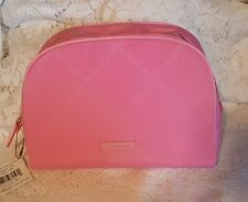 Vera Bradley Preppy Poly Large Cosmetic in Blossom Pink ~NWT ~ Makeup Bag