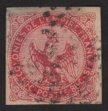 1859, France India 80c, Used, Very scarce,