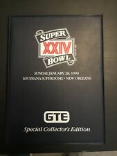 1990 Pro Set Super Bowl Xxiv Gte Special Collector's Edition 40 Card Set
