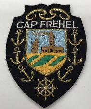 Cap Fréhel Vintage Patch Badge FRANCE Resort Souvenir Travel Ecusson