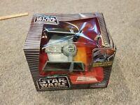 Darth Vader's Tie Fighter Micro Machines Star Wars Action Fleet Galoob Sealed