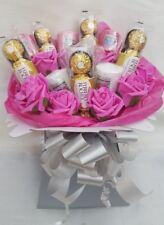 Yankee candle & Ferrero Rocher Pink Chocolate Bouquet - Sweet Gift hamper