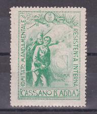 * WWI - Erinnofilo - Comitato di Resistenza Interna - Cassano d'Adda (2)