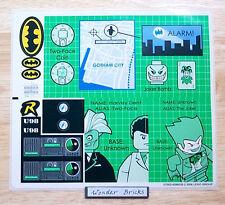 Lego STICKERS 7783 Batman Batcave Joker Two-Face * NEW Condition *