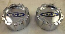 Moto Metal Wheels Chrome Custom Wheel Center Cap Set 2(1) # 353K133