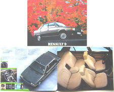 Renault 9 TSE GTS GTL TL TC C 1983-84 French Brochure