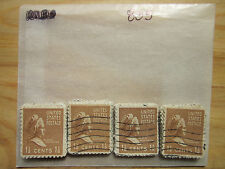 # 805 Lot x 100 Used US Stamps  Martha Washington  See our other lots