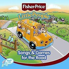 NEW Fisher Price - Little People: Songs and Games for the Road (Audio CD)