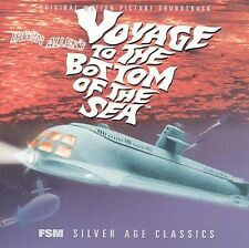 ORIGINAL SOUNDTRACK - Voyage To Bottom Of Sea - CD - Soundtrack - Mint Condition
