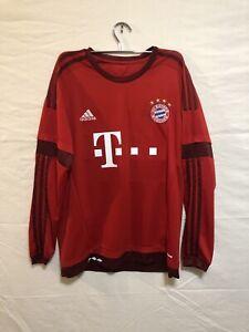 Bayern Munich 2013-2014 Home Football Long Sleeve Jersey #25 Müller size M