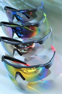 XL Sport Sunglasses Mirror Coated Lens Great for Cycling Running Work