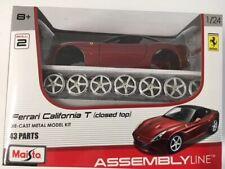 Ferrari California T Kit Red MAISTO 1:24 MI39018-CALIF Model