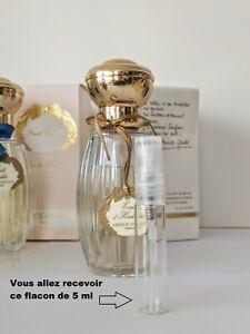 Annick Goutal Eau d' Hadrien échantillon (decant 5 ml ) d' eau de parfum