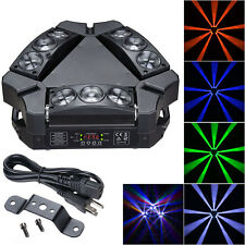 9x10W 4in1 Mini LED Spider Moving Head Light RGBW DMX Stage Bar KTV Disco Party