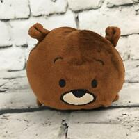 Bun Bun Bear Plush Brown Stacking Stuffed Animal Soft Toy Teddy