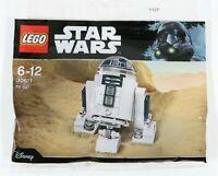 LEGO STAR WARS R2-D2 POLYBAG 30611 BRICK BUILT ASTROMECH DROID - NEW SEALED
