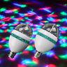 Colorful Rotating Stage LED Light Bulb Flashing Disco DJ KTV Small Magic Lamp