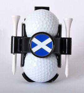 Ball Buddy Golf Ball Holder with National Flag Ball Marker - Scotland