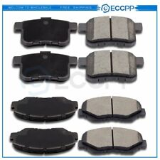 Front And Rear Ceramic Brake Pads Kit For 2008 2009 2010 2011 2012 Honda Accord