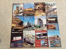 Mainline Modeler Magazine 1994- full set of twelve