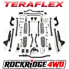 "Teraflex Jeep Wrangler JK 4-Door Alpine CT6 Suspension System 6"" Lift No Shocks"