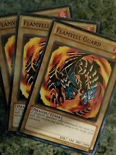 3x Yugioh SDBE-EN005 Flamvell Guard Common Card