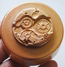 Engranaje De Jabón De Reloj Molde de Silicona Molde Resina Fimo Arcilla Polimérica Cera Steampunk