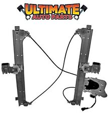 Rear Power Window Regulator Passenger RH w/Motor for 02-06 Chevy Avalanche