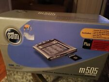 Palm m505 Color Handheld - From 2001. Open box Tested.