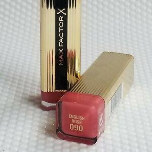 Max Factor Colour Elixir Lipstick - 090 English Rose NEW