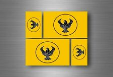 4x adesivi adesivo sticker bandiera vinyl tuning grecia greci ponto