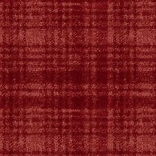 Maywood Studio Woolies Windowpane Plaid Red MASF18501-R - 100% Cotton Flannel
