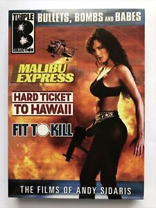 The Triple B Collection - Malibu Express/Hard Ticket to Hawaii/Fit to Kill (DVD,