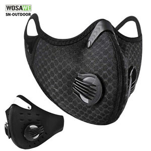 Cycling Protective Face Cover Mouth-muffle with Activated Carbon Outdoor Sports