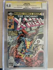 X-Men #129 CGC 9.8 1st  Kitty Pryde, Emma Frost, SIGNED STAN LEE 3X. White Pages