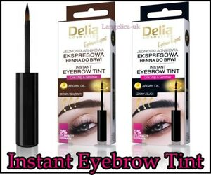 Delia Eyebrow Expert Instant Eyebrow Tint Up To 20 Applications in 1-pack 6 ml