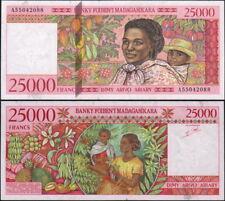 MADAGASCAR - 25000 francs 1998